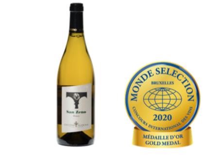 San Zeno Bianco Vigneti Delle Dolomiti 2017 Vince L'oro Al Monde Selection Wine Contest