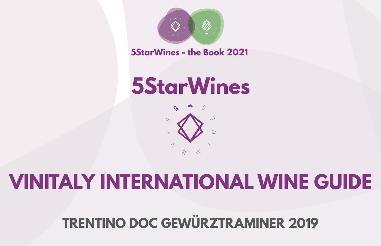 Trentino Doc Gewürztraminer 2019 Ausgezeichnet Bei 5StarWines